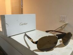 9fea127706968 Cartier SANTOS DUMONT Sunglasses  fashion  clothing  shoes  accessories   mensaccessories  sunglassessunglassesaccessories