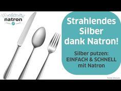 Silber putzen mit Alufolie und Natron