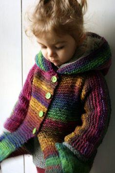 modèle tricot gilet asymetrique