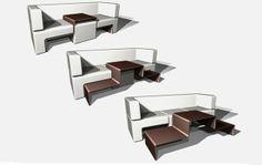 Slot Sofa by Matthew Pauk