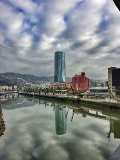 Basque Country, Bizkaia, Bilbao, Uribitarte #Bizkaia #Spain #basqueCountry #visiteuskadi
