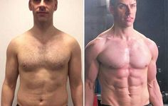 41-year-old Ken Wathall completely committed to his fitness and saw amazing results