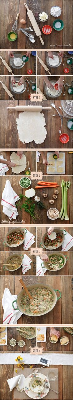DIY Homemade Chicken Pot Pie Recipe