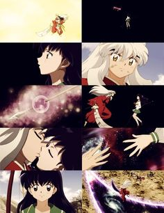 InuYasha and Kagome end of the Final Act.