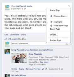 Facebook Training: Embedding Facebook Posts  In the past, small business owners that wanted to reference a Facebook post in a blog post had no choice but to simply include a link to that Facebook post in their blog entry. Now,if you haven't heard, Facebook posts can be embedded directly into your blog entries! In this Facebook Training tip, we'll go over how to embed a Facebook post and what makes this such a great feature.