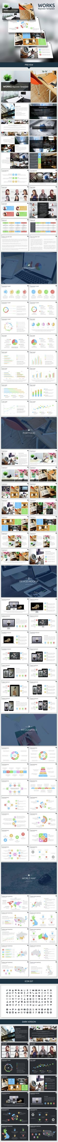 Works Keynote Template. Download here: http://graphicriver.net/item/works-keynote-template/14824611?ref=ksioks