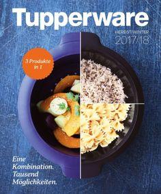 Tupperware Katalog 2017 Page 1 Tupperware Catalogue, Acai Bowl, Oatmeal, Autumn, Dishes, Breakfast, Sweet, Food, Urban