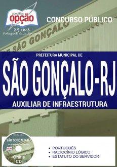 Nova -  Apostila Concurso São Gonçalo RJ - Vários Cargos  #Aprovado Saiba como adquirir a sua http://apostilasdacris.com.br/apostila-concurso-sao-goncalo-rj-varios-cargos/