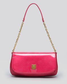 MCM Shoulder Bag - Ivana Patent | Bloomingdale's