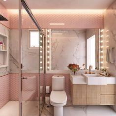 Bathroom – Home Decor Designs Dream Bathrooms, Dream Rooms, Bathroom Design Luxury, Girl Bedroom Designs, Home Interior, House Rooms, Bathroom Inspiration, Bedroom Decor, Home Decor