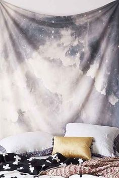 Magical Thinking Cosmic Astrology Tapestry - Urban Outfitters