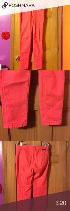 Boden jeans Excellent condition coral Boden skinny jeans size 8L Boden Jeans Skinny