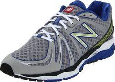 New Balance Men's M890v2 Neutral Running Shoe, Silver/Blu...