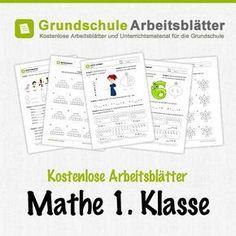 Kostenlose Arbeitsblätter und Unterrichtsmaterial für den Mathe-Unterricht in der 1. Klasse in der Grundschule.