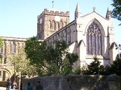 Hexham Abbey in Northumberland - between Carlisle and Newcastle - there is a festival in late Sept. with many musical events