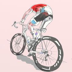 poseursport: bicycleart: Team NYC Velo Illustrations By poseursport