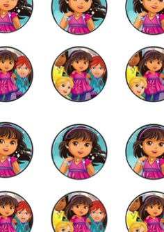 FREE Dora and Friends Birthday Party Printable Files