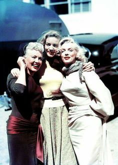 Betty Grable Lauren Bacall MM