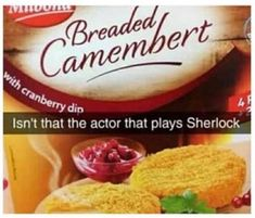 "Everytime I find a ""isn't that the actor that plays Sherlock"" post, it's a different version... every single time"