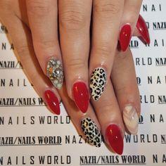❤️ hot red  #leopard #print #leopardprint #leopardnails #nailsworlddd #fallnailtrends #nailtrends #nailstyle #nailporn #gel #gelnails #nail #nailcare #nailsalon #nailsbyme #nailsdone #nailslove #nailstyle #naildesign #nailpolish #nailsaddict #μανικιουρ #nailtutorial #νυχια #nails2inspire #nailsoftheday #greekbloggers #nails
