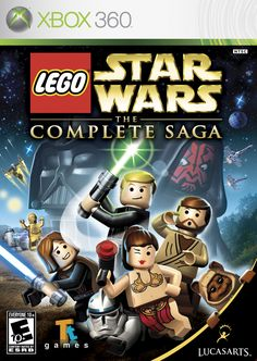 Lego Star Wars - the best Lego video game out there :)