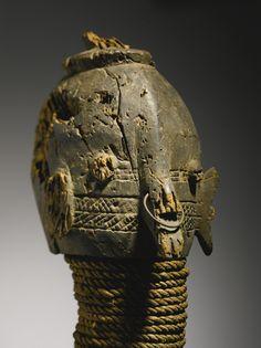 Wurkun/Bikwin Vertical Female Mask, Benue River Valley, Nigeria | lot…