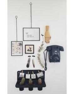 BePure fotolijst Xpose met ketting, 23x18 - Stoer Metaal