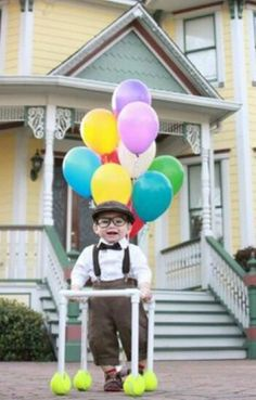 Halloween Costumes - Carl from Up  sc 1 st  Pinterest & Best Halloween Costume: Carl from Up | Pinterest | Costumes ...