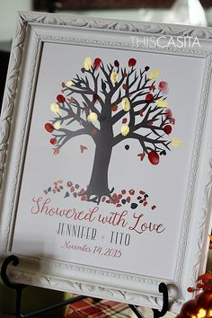 THIS CASITA: Fall In Love Themed Bridal Shower