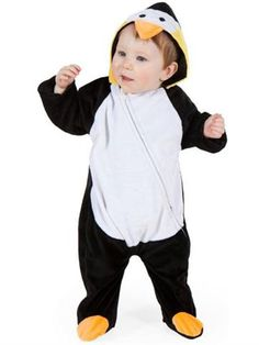 Little Penguin - Baby Costume front  sc 1 st  Pinterest & 1970s 70u0027s disco fever child boy costume gold silver sequin shirt ...