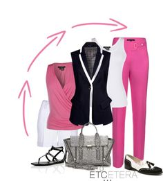 """""""Etcetera Spring 2013 - The sleeveless Blazer"""" by etcetera-nyc ❤ liked on Polyvore"""