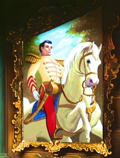 Prince Charming Painting found within Cinderella