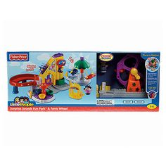 Fisher-Price Little People Surprise Sounds Fun Park & Ferris Wheel - Bought this for Christmas 2013 :)