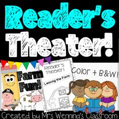 Get your reading on! Farm Fun! Great animal or farm unit supplement! These ORIGINAL Reader's Theater Books are great for fluency practice! Use them whole group, with your guided reading groups, for partner work or literacy centers! The students will love these fun plays. Act them out for an extra ad...