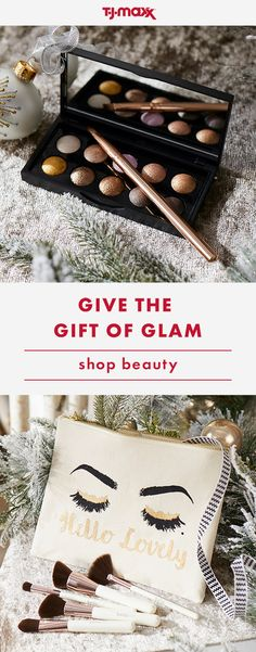 Impress the most beauty-obsessed friends and family on your list with premium palettes and pout-worthy gifts. Find all the sparkle they'll need this holiday in-store and at tjmaxx.com.