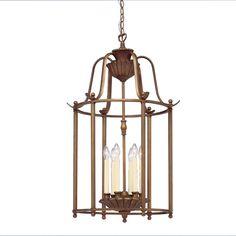 Shop Portfolio Kempton Park 6-Light Parisian Bronze Chandelier at Lowes.com