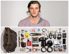 Interview: Jason Travis Captures Personalities Based on What People Carry with Them - My Modern Met