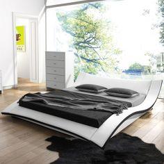 VIG Furniture Modrest Corsica Sleigh Bed AllModern Room