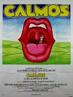 Marielle J Rochefort Bernard Blier B Fossey CALMOS Bertrand Blier 1976 120x160 in DVD, cinéma, Objets de collection, Affiches, posters | eBay