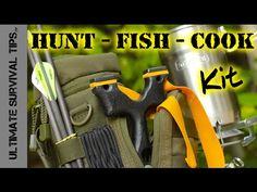 "DIY – Survival / Bug Out – Hunting Fishing Cooking Kit – SERE Sling Bow / SlingShot – ""First Look"" | Survival Explorer"