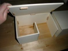 diy rodent house, i like this style it would look good for architectural builds not just the cute ones