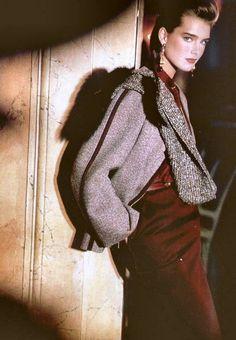 brook shield, vintag fashion70s80, brooke shields, 80s fashion