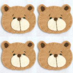 Bear appliques