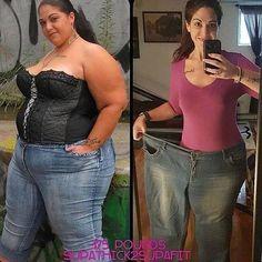 Transgenero antes y despues de adelgazar