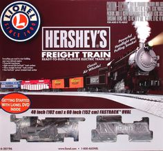 Lionel train set hershey