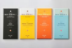 Masa chocolate packaging — Designspiration