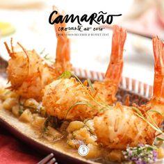 Receita de camarão crocante (Foto: Julio acevedo Arte karen hofstet)