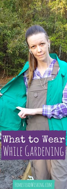 Breathable, cool, soft, and comfortable. That's what I want out of my gardening clothes. Don't you hate it when you shirt is sticking to you, like a wet rag? That's why I wanted to write about what to wear while gardening.