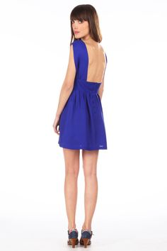 Robe en soie Solo Piano Bleu Sessun sur MonShowroom.com