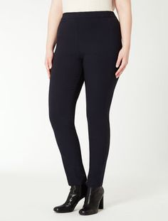 Pantalone super stretch effetto leggings